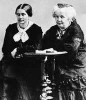 Elizabeth Cady Staton and Susan B. Anthony