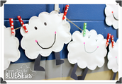 Happy Clouds Craft