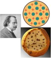 Modelo atómico de Thompson  (1.897) Nombre: MODELO DE BUDÍN