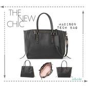 Madison Tech Bag - Black