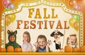 Fall Festival Fri, Oct 16