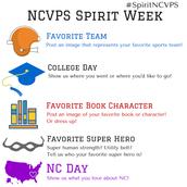 NCVPS Spirit Week