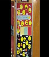 The emoji door