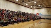 Mr. Flynn speaking about schools in South Sudan