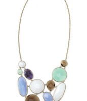 Oasis bib necklace. Was £170 NOW £50