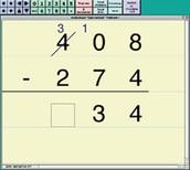 Electronic Math Worksheets