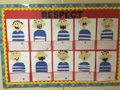 Ms. Frenzel's Bulletin Board Promoting SEL!