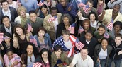 All Different People Coming Together As Americans