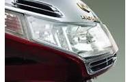 Demure headlights