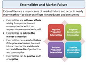 Resolve externalities and other market failures in a market economy?