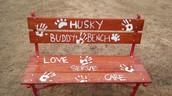 Husky Buddy Bench