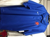 Men's Blue Nike Dri-Fit Polo - $34.00