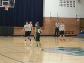 Basketball in Southwest Valley Middle School.