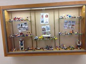 New Display Case Theme...Teacher's Colleges and/or favorite sports
