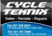 Cycle Teknix Table View