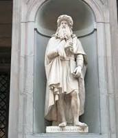 Awesome Sculpture of Da Vinci