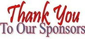 Thank you Cat Slam Sponsors for your generous support!!  We appreciate you!!