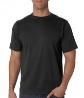 Camisa de manga corta negro ($quince)