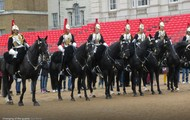 Guards on their horses