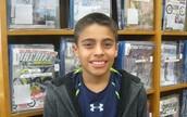 Diego Duran, 7th grader