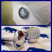 Men's Sterling Cufflinks $98