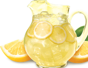 Our stand sells yummy lemonade!