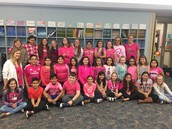 West Goshen goes pink