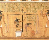 Egyptian Papyrus -Before the Written Word.