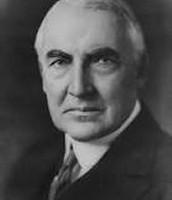 Warren Harding 1921-1923