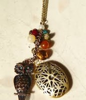 COMING SOON!  Diffuser necklaces
