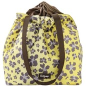 Cinch Top Thermal Tote in Lepord Floral