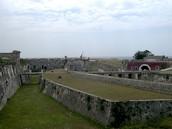 View from inside of the Fortaleza de la Cabana