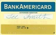 A 1950 BankAmeriCard