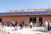 Solar Panel array at Elkhart Elementary