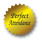 Perfect Attendance!  October ~ Give me 10!