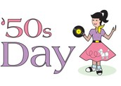 October 22  -   50's Day in First Grade