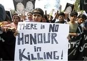 Protesting the killings