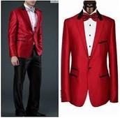 trajes rojos cuestan 400 $