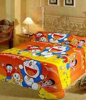 doremon bed sheet