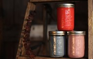 Our candles have a vintage look
