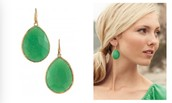 Serenity Stone Drops Green -  $20 (Retail $49)