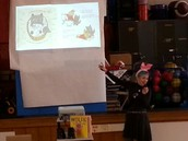 Author Ame Dyckman visits