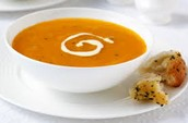 Beautiful home soup of the day