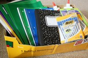 Submit School Supply Lists for Your Students