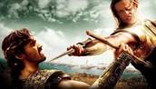 Achilles kills Hektor