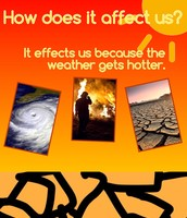How does Global Climate Change effect us?