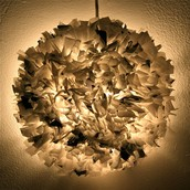 10 - Plastic Pendant Light