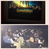 Field trip to see Goosebumps