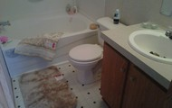 master & guest bathrooms on every unit!