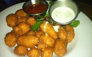 One of the Appetizer is cheese curds with ranch